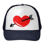 Corazón quebrado gorras