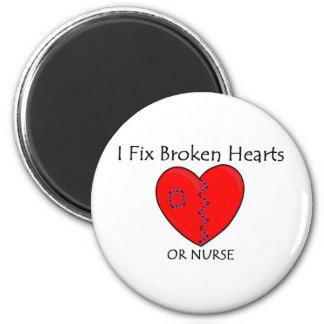 Corazón quebrado RN 1 Imán Para Frigorifico