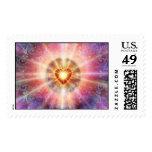 Corazón radiante 2 sellos