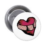 Corazón reparado pins