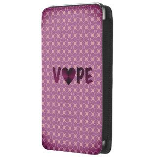 Corazón retro púrpura oscuro de Vape Bolsillo Para Galaxy S5
