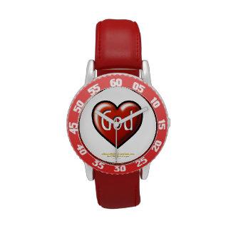Corazón rojo Agrainofmustardseed.com de dios