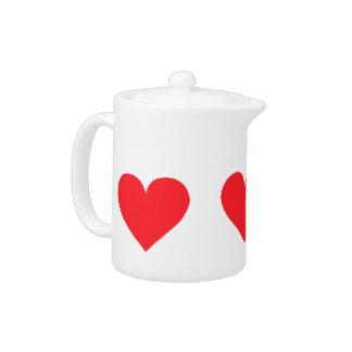 Corazón rojo - amor, juego de la tarjeta, anatomía