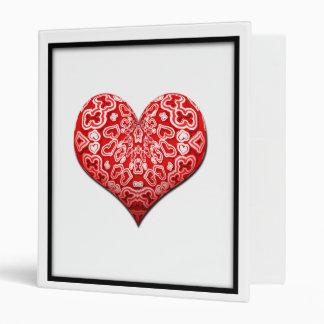 Corazón rojo de lujo