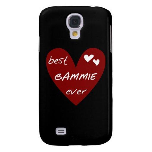 Corazón rojo el mejor Gammie nunca y regalos