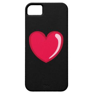 Corazón rojo iPhone 5 funda
