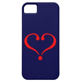Corazón rojo y amor abierto en día de San Valentín iPhone 5 Case-Mate Cárcasas
