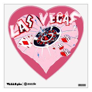 Corazón rosado de Las Vegas