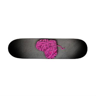 Corazón rosado de Warrpaed Patin Personalizado