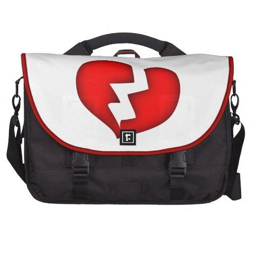 corazón roto broken heart bolsa de ordenador