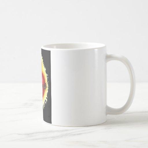 Corazón sagrado 2 taza de café