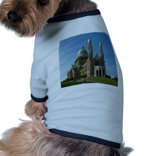 Corazón sagrado Bruselas Bélgica de la basílica Ropa Para Mascota