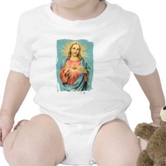 Corazón sagrado de Jesús Camiseta