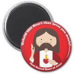 Corazón sagrado de Jesús Imán De Frigorífico