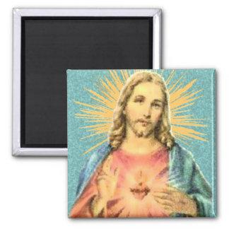Corazón sagrado de Jesús Iman Para Frigorífico