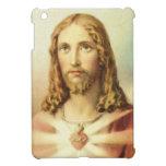 Corazón sagrado de Jesús iPad Mini Coberturas