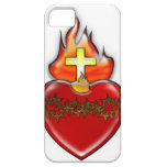 Corazón sagrado de Jesús iPhone 5 Coberturas
