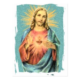 Corazón sagrado de Jesús Postales