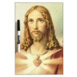 Corazón sagrado de Jesús Tablero Blanco