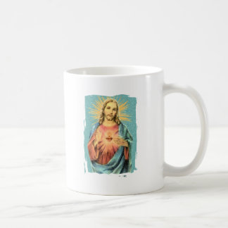 Corazón sagrado de Jesús Taza De Café