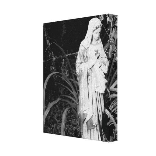 Corazón sagrado de la fotografía de la original de impresión en lienzo