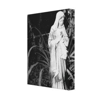 Corazón sagrado de la fotografía de la original de impresión en lienzo estirada