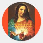 CORAZÓN SAGRADO DEL PEGATINA CORJESU DE JESÚS