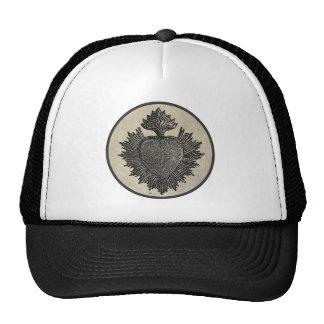 Corazón sagrado gorras