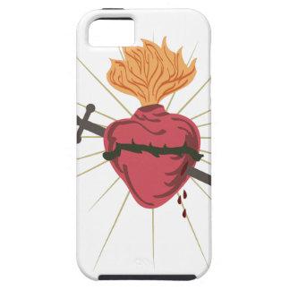 Corazón sagrado iPhone 5 fundas