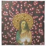 Corazón sagrado Jesús Servilleta De Papel