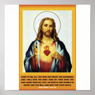 Corazón sagrado póster