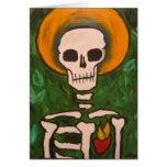 Corazón sagrado tarjeta