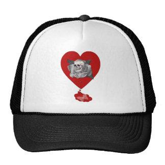 Corazón sangrante gorra