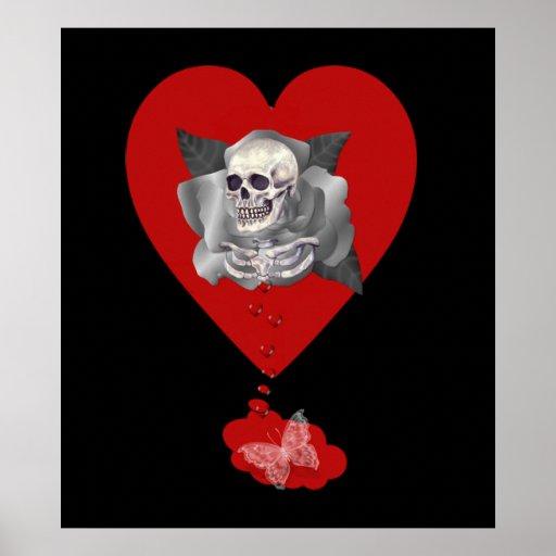 Corazón sangrante póster