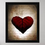 Corazón sangrante posters