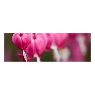 Corazón sangrante tarjetas de visita mini