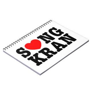 Corazón Songkran del ~ de S❤NGKRAN Note Book