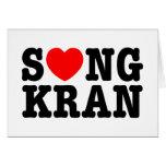 Corazón Songkran del ~ de S❤NGKRAN Tarjeta
