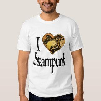 Corazón Steampunk - luz Playera