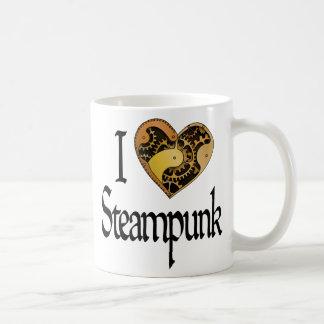 Corazón Steampunk Taza