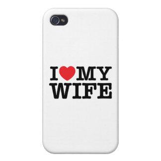 Corazón t iPhone 4 fundas