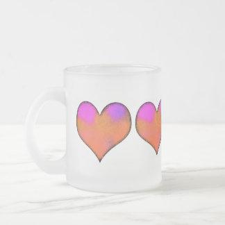 corazón tazas