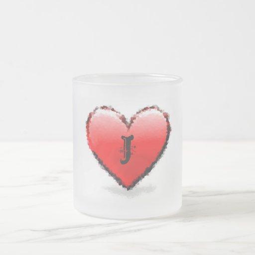 Corazón - taza del j