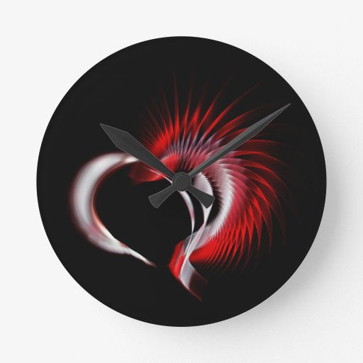 Corazón tribal reloj