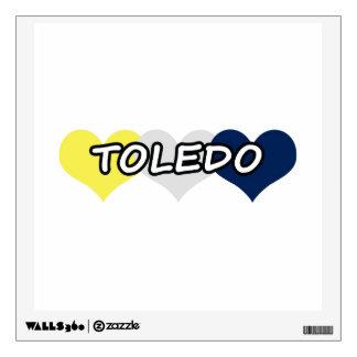 Corazón triple de Toledo Vinilo