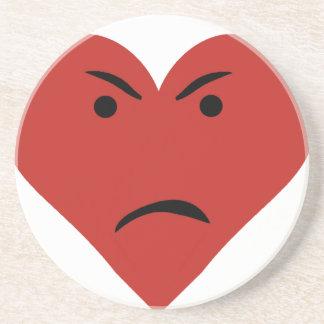 Corazón triste posavasos manualidades