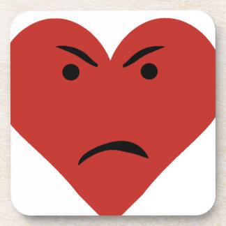 Corazón triste posavasos