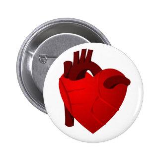 Corazón verdadero pin