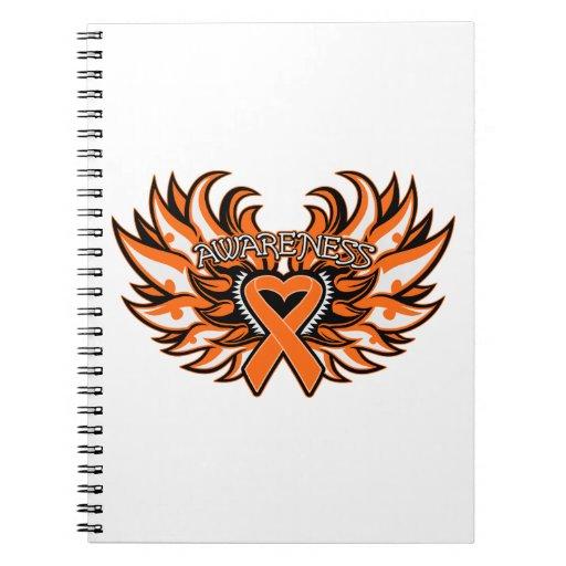 Corazón Wings.png de la conciencia de COPD Libros De Apuntes
