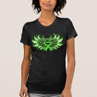 Corazón Wings.png de la conciencia de la distrofia Camiseta